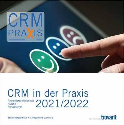 Trovarit-Studie CRM in der Praxis 2021/2021