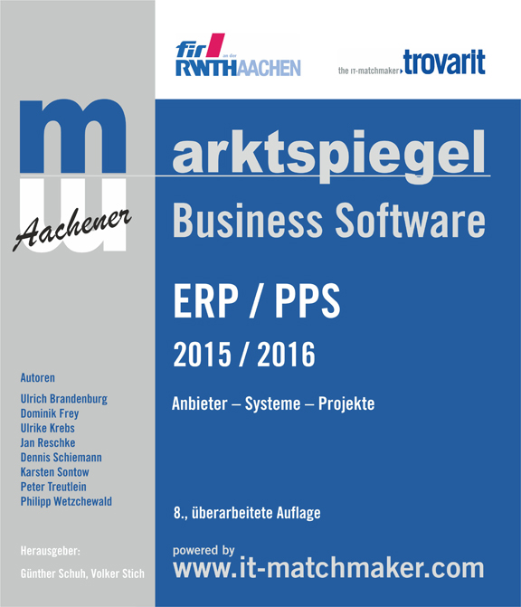 Deckblatt ERP-Marktspiegel